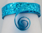 Preview: Aluminium wire oriental embossed 30x0,5mm 2m turquoise