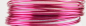 Preview: Aluminium wire 500g +/-60m 2mm strong pink