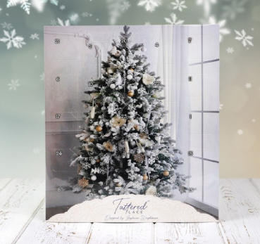 Tattered Lace Adventskalender - 2020 mit 25 Stanzschablonen - Limitiert