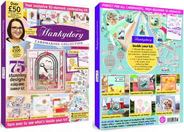 Hunkydory Design Collection Box Magazine Issue 5 (B-Ware - Sonderpreis)