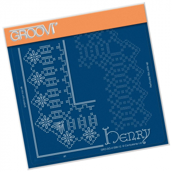 Henry Lace Frame Corner Duet A5 Square Piercing Grid
