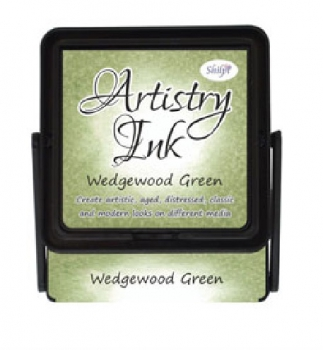 Artistry Ink Pad Shilpi - Wedgewood Green