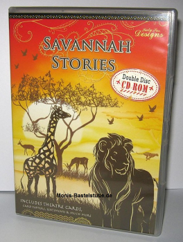 Doppel CD-Rom - Savannah Stories - Tiere in Afrika