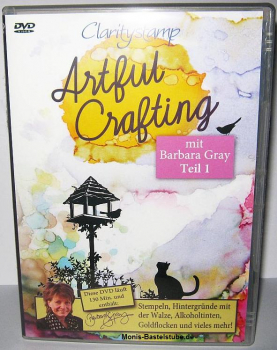 DVD - Barbara Gray - Artful Crafting - deutsch