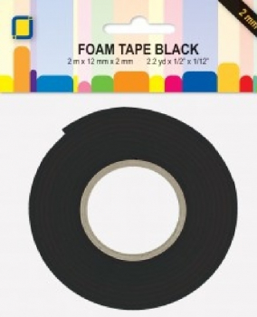 3D Foam Tape Black 2mm