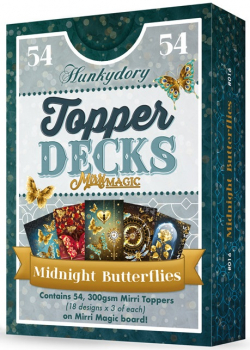 Midnight Butterflies Topper Deck