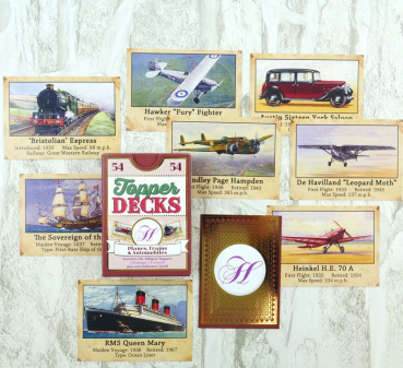 Planes Trains & Automobiles Topper Deck