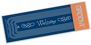 Welcome Plaque Spacer Plate
