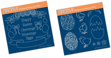 Easter Banners + Ornate Eggs & Chicks
