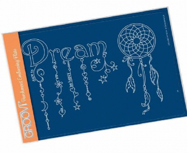 Dream Dangles A5 Groovi Plate