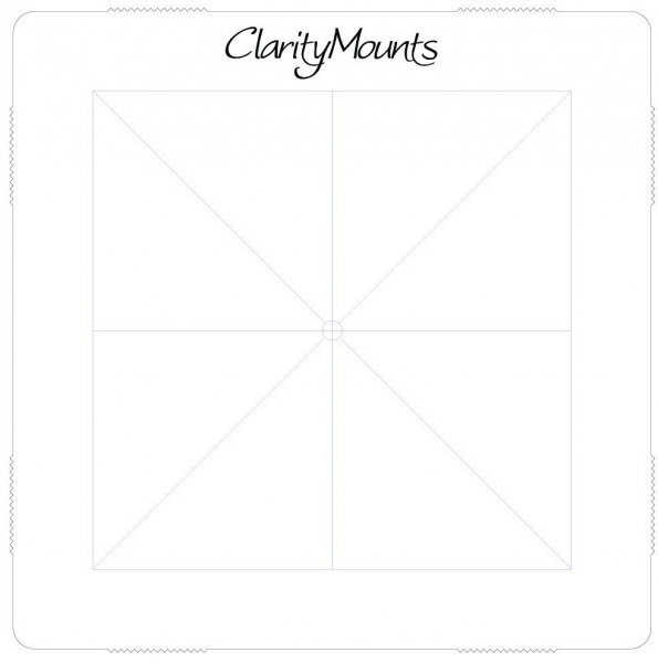 "Clarity Mega Mount 4"" x 4"""