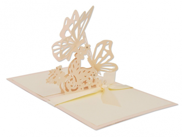 Sizzix Thinlits die interlacing butterfly