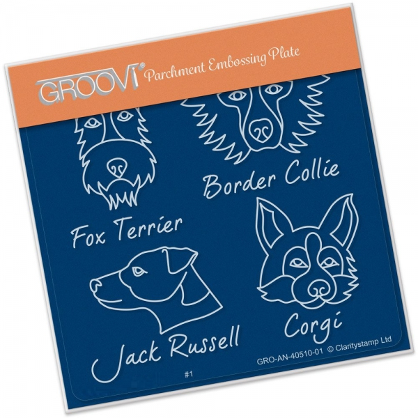 Groovi Baby Plate A6 - Kennel Club - Dog Breeds