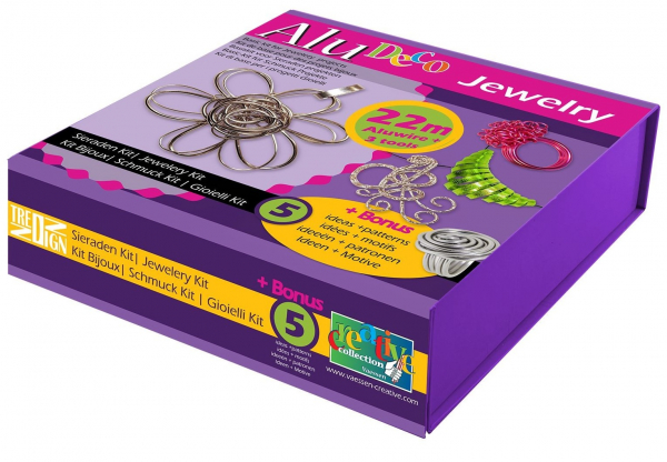 Alu Deco jewelry kit