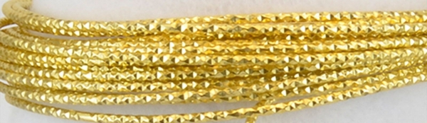 "Aluminium wire ""Hammer"" 500g +/-60m 2mm light gold"