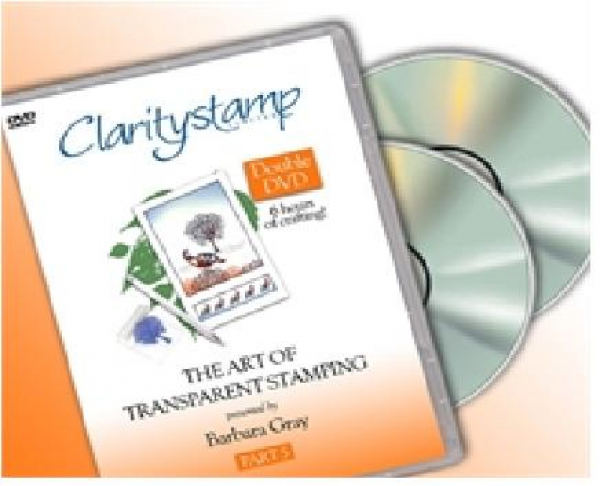 DVD - Barbara Gray - The Art Of Transparent Stamping No. 5
