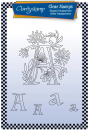 Floral Alphabet - A A6 Unmounted Stamp