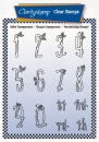 Happy Numbers A6 Unmounted Stamp Set