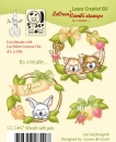 Leane Creatief Wreath with Pets Clear Stamp (55.5497)