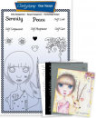 Dee's New Friends - Peace & Serenity A5 Unmounted Stamp Set