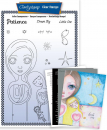 Dee's New Friends - Patience A5 Unmounted Stamp Set