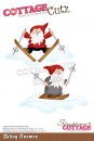 Scrapping Cottage Skiing Gnomes