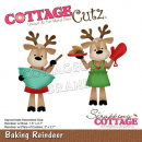 Scrapping Cottage Baking Reindeer