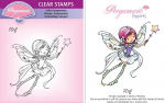 Whimsy Poppets - Ping Stamp Artwork by Marina Fedotova
