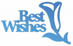 Couture Creations Best Wishes Sentiment Mini Die
