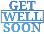 Couture Creations Get Well Soon Sentiment Mini Die