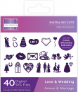 First Edition Digital Dies Love & Wedding