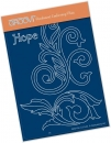 Filigree Swirls - Hope A6 Groovi Plate