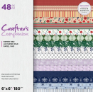 "Crafter's Companion 6"" x 6"" Printed Paper Pad - Decorative Christmas"