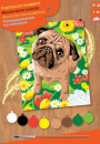 Sequin Art • Junior painting by numbers pug