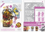 Tonic Studios • Dimensions die set butterfly tuxedo card