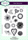 Creative Expressions • Art elements A5 clear stamp set