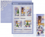 A Choral Christmas Luxury Topper Set